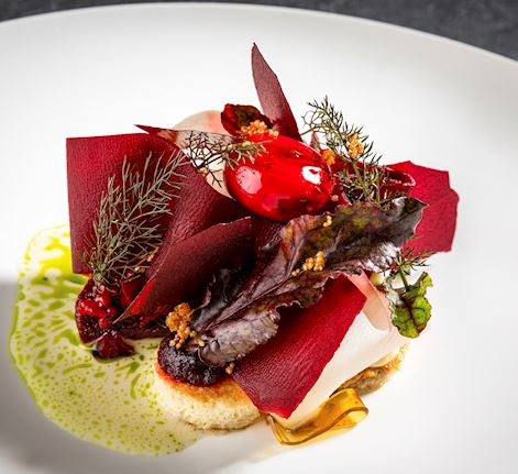 Michelin Starred Cuisine at the OPUS Restaurant in Vienna