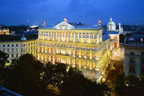 Hotel Imperial in Vienna