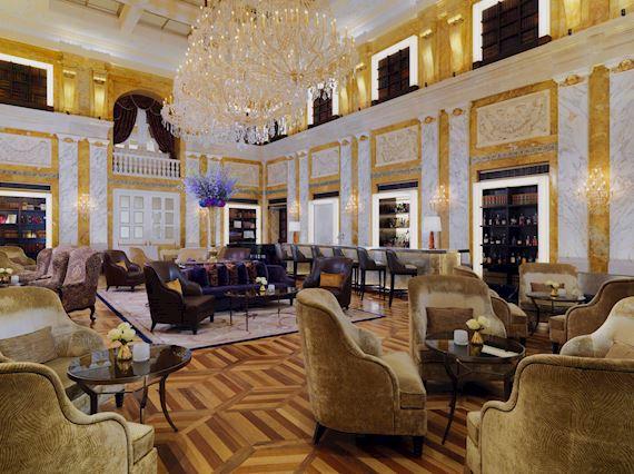 Der HalleNsalon im Hotel Imperial Wien